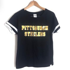 Victoria's Secret Pittsburg Steelers Football Tee